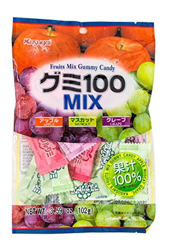 Kasugai Gummy Mix, 3.59 -Ounce Units (Pack of 12)