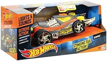 Toy State Hot Wheels Coches con luz,Sonidos y movimientoExtreme Action Scorpedo: Amazon.es: Juguetes y juegos