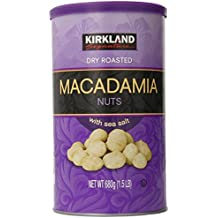 Kirkland Dry Roasted Macadamia Nuts with Sea Salt 680g (1.5 LB)