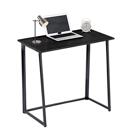 Charmant GreenForest Folding Desk For Small Splaces Home Office, Computer Table  Writing Desk Small Office Desk