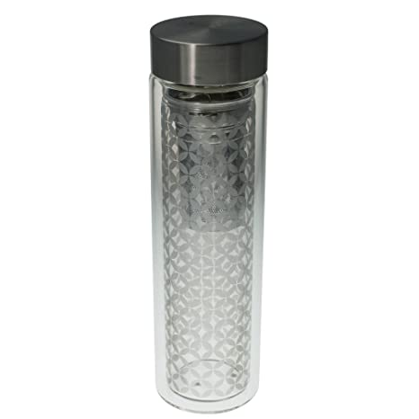 Amazon.com: EigenArt - Vaso de doble pared (cristal, 350 a ...
