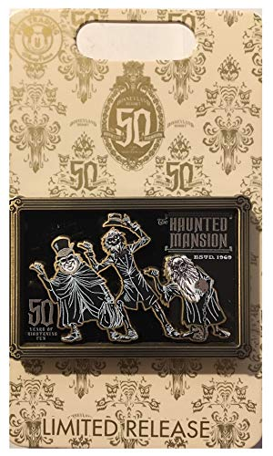 Disney Haunted Mansion 50th Anniversary Hitchhiking Ghosts Pin ~Limited Release~