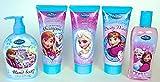 Disney Frozen Bathroom Soap Set of 5 (1 Bubble Bath, 1 Body Wash, 1 Body Lotion, 1 Shampoo & 1 Hand Soap) Review