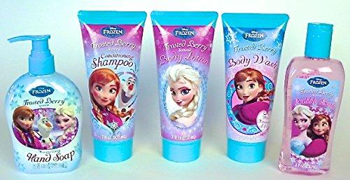 Amazoncom Disney Frozen Bathroom Soap Set of 5 1 Bubble Bath