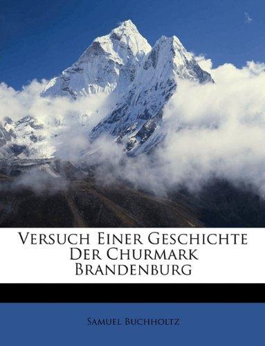 Download Versuch einer Geschichte der Churmark Brandenburg, Fünfter Band (German Edition) pdf epub