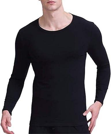 Hombres Body Shapers Tops de Manga Larga Sauna de Neopreno Camiseta de Entrenamiento Fajas de Fitness Chaleco Adelgazante Camisa: Amazon.es: Ropa y accesorios