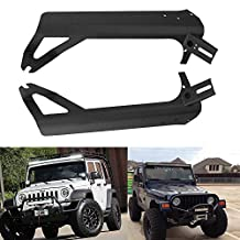 UNI 50INCH Straight Led Light Bar (4x4 inch pods )Windshield Mounting Bracket for 1999-2006 Jeep Wrangler TJ