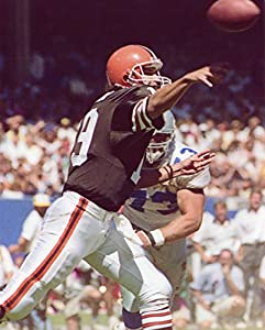 Bernie Kosar Cleveland Browns 8x10 Sports Action Photo (pl)