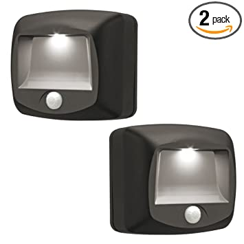 Perfect Mr. Beams MB522 Wireless Battery Operated Indoor/Outdoor Motion Sensing LED  Step