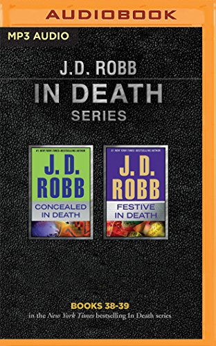 J. D. Robb - In Death Series: Books 38-39: Concealed in Death, Festive in Death ()