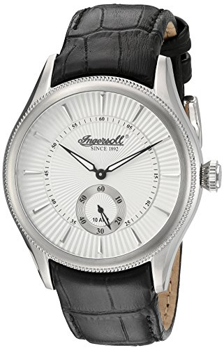 Ingersoll Men's INQ 033 SLSL Bloomsbury Analog Display Japanese Quartz Black Watch
