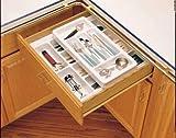 Rev-A-Shelf Rolling Cutlery Tray Insert Half Tray 21-3/4'' W X 3-1/8'' H