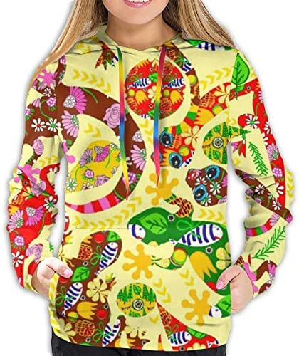 Mellow Yellow Women's Comfort Pullover Graphics Hoodies Sweatshirt Hip-Hop Tops Hooded