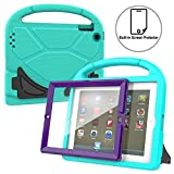 AVAWO Kids Case Built-in Screen Protector for iPad 2 3 4 - Shockproof