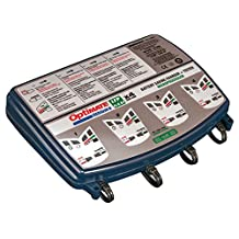 OptiMATE Lithium 4-bank x 4s 0.8A, TM-485, 4-bank x 8-step 12.8/13.2V 0.8A Battery saving charger-tester-maintainer