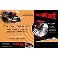 HushMat 10400 Ultra Black Foil Floor Kit with Damping Pad - 20 Piece