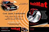 HushMat 10500 Ultra Black Foil Bulk Kit with Damping Pad - 30 Piece