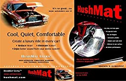 HushMat 10300 Ultra Black Foil Trunk Kit with Damping Pad - 10 Piece