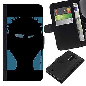 JackGot ( Musica Punk ) LG G3 la tarjeta de Crédito Slots PU Funda de cuero Monedero caso cubierta de piel