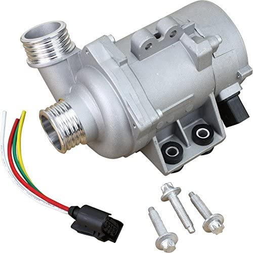 Dasbecan Electric Engine Water Pump Compatible with BMW Z4 X3 X5 328i 128i 528i Replace 11517521584 11517546994 11517563183 11517586924 11517586925 11517545201