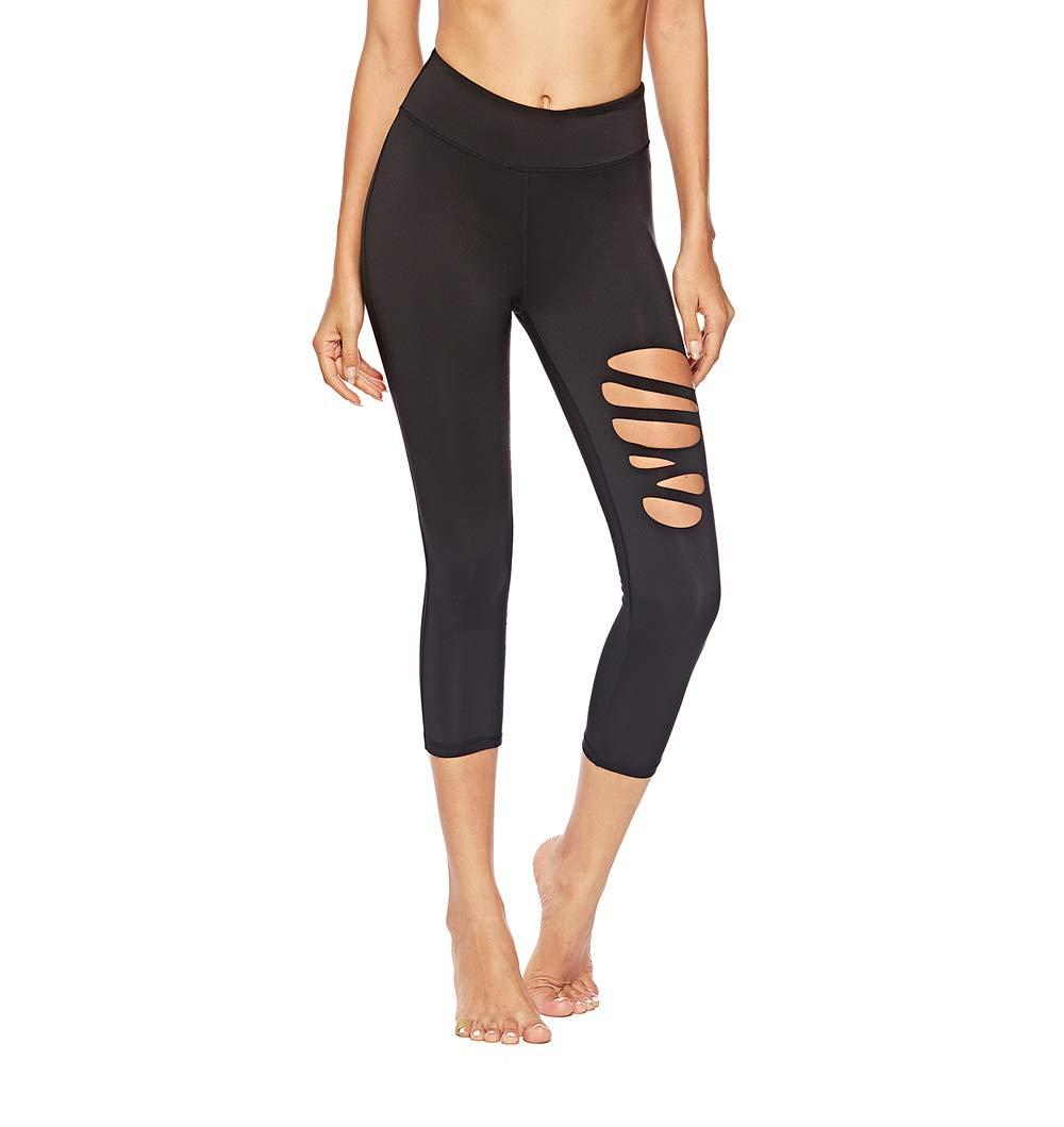 SOUTEAM Cravate d/écoup/ée pour Femme Legging Jeggings Non Ver-Through High Waistband Pants with Inner Pocket