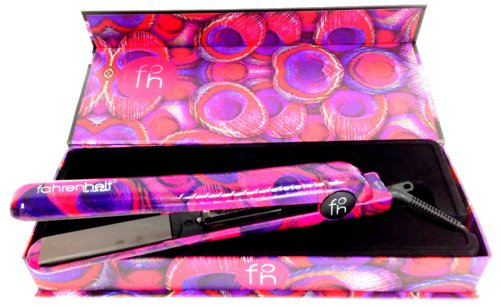 Fahrenheit 1.25 Ceramic Limited Edition Flat Iron Peacock