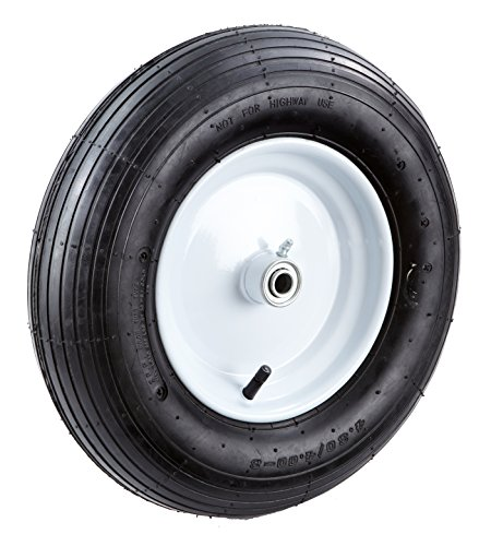 Tricam Farm and Ranch FR2210 Pneumatic Replacement Tire for Wheelbarrows and Utility Carts, 16-Inch Review