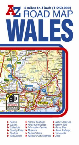 Wales Road Map AZ