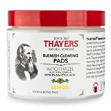 THAYERS Witch Hazel Blemish Pads 60 Count, 60 CT
