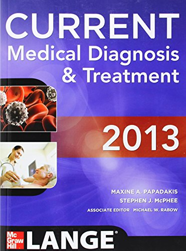 Current Medical Diagnosis And Treat (Current Medical Diagnosis & Treatment)