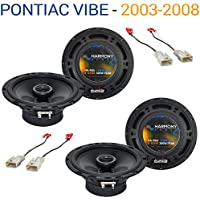 Pontiac Vibe 2003-2008 Factory Speaker Replacement Harmony (2) R65 Package New
