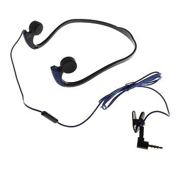 IPOTCH 1 Pieza de Auriculares Bluetooth sin Cables E1 Conector con Mic Compatible con Móvil Inteligente