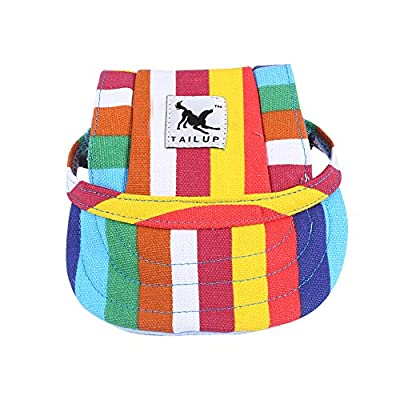 Dog Hat / Visor Cap with Ear Holes for Dogs by Cade-one