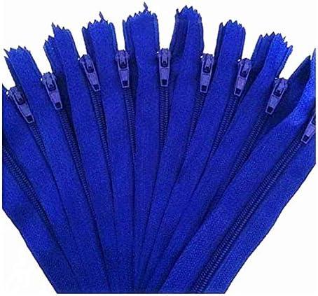 Jinggege Zipper 10st Nylon spiraalritsen Tailor Riool Craft Crafters 17 kleuren Color12 Size15 cm