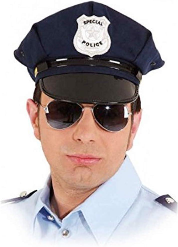 ORLOB Gorra de Policía Americanas kW 60: Amazon.es: Juguetes y juegos