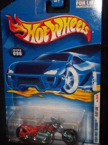 2001 Motorcycle (Hot Wheels 2001 Blast Lane (Motorcycle) #96, Orange (First Edition))