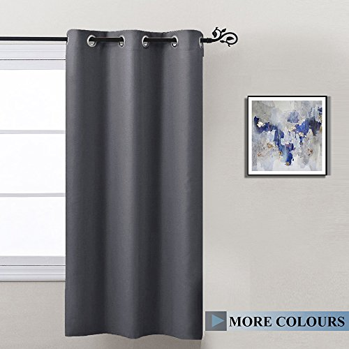 Blackout Curtain Blind For Bedroom Nicetown Thermal Insulated Grommet Blackout Room Darkening