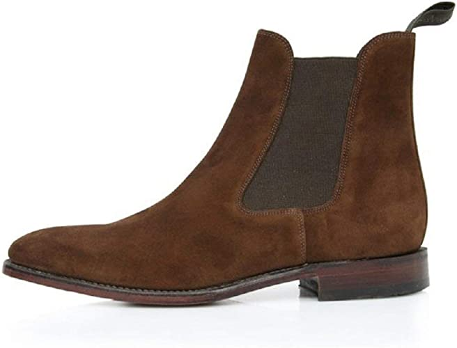 Loake Men's Mitchum Classic Brown Suede