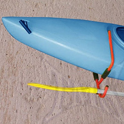 Steel Kayak Ladder Wall Mount Storage Rack Bike Surfboard Canoe Folding Hanger by Sawan Shop (Image #8)