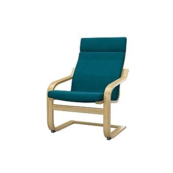 soferia ikea poang housse de fauteuil elegance turquoise - Ikea Fauteuil