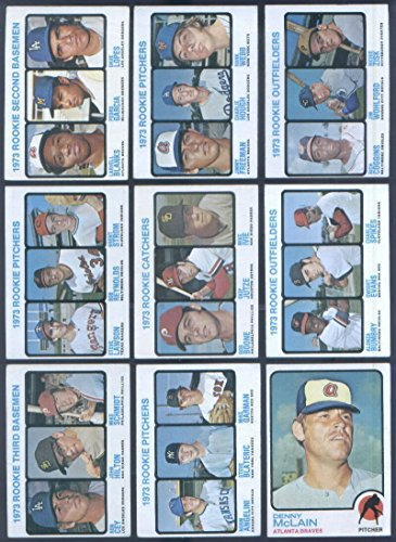 1973 Topps Baseball Complete Set 660 Cards Mike Schmidt Rookie VG- EX Condition by Topps