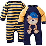 #2: Gerber Baby Boys' 2 Pack Coveralls