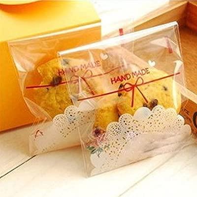 Bolsas autoadhesivas para galletas, 100 unidades, bolsas de ...
