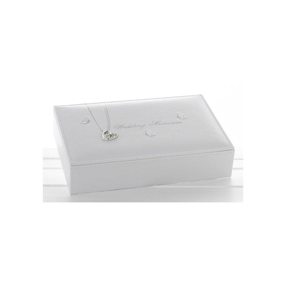 Wedding Rings Memories Keepsake Box - Keep Your Treasured Items From Your Big Day (71145) Shudehill
