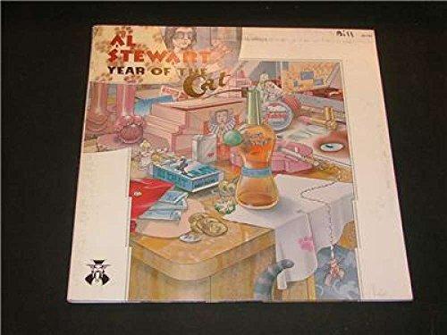 AL STEWART, YEAR OF THE CAT 1976 JANUS Record ROCK LP ()