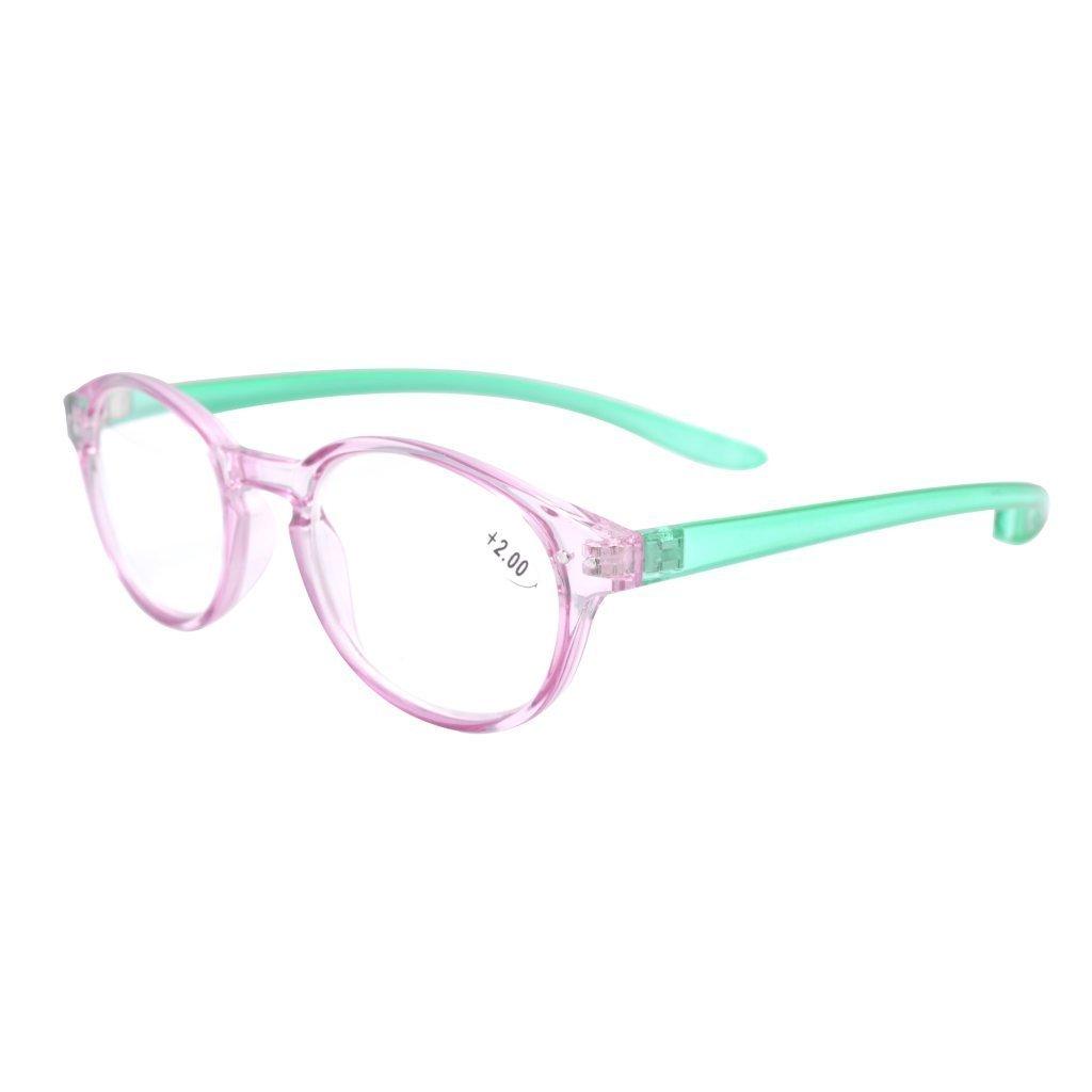 Eyekepper Qualita lunghe braccia intorno al collo occhiali da lettura+2.50