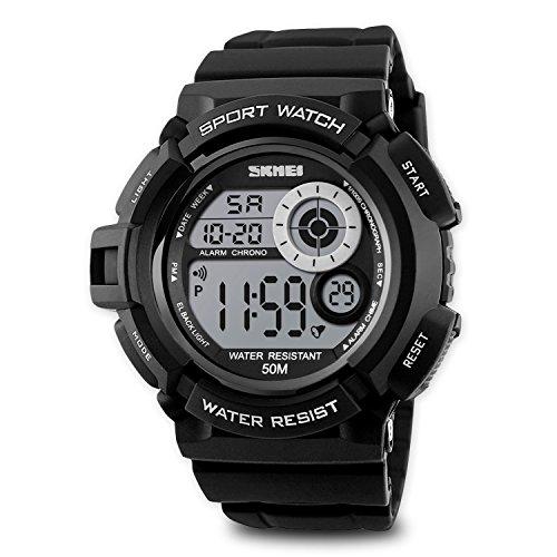 Aposon mens sport running watch digital electronic m