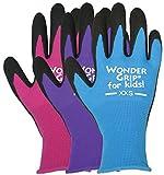 Wonder Grip KWG515ACXXS Extra Extra Small Nitrile Wonder Grip Kids Gloves