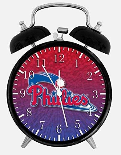 Phillies Alarm Desk Clock 3.75