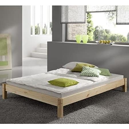 Short Bed Small Single Pine Bed 2ft 6 X 5ft 9 Studio Bed Wooden